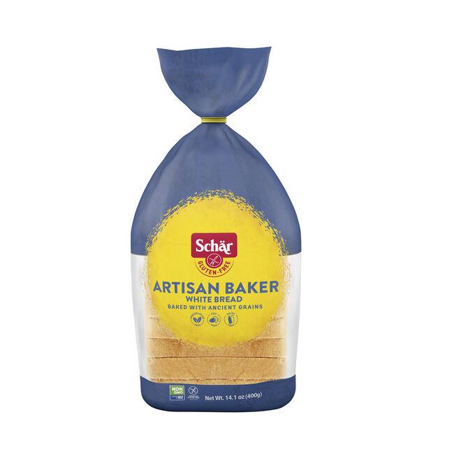 ARTISAN BAKER WHITE BREAD 14.1oz